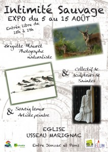 Expositions photographie animalière et peinture de Soazig Lemur