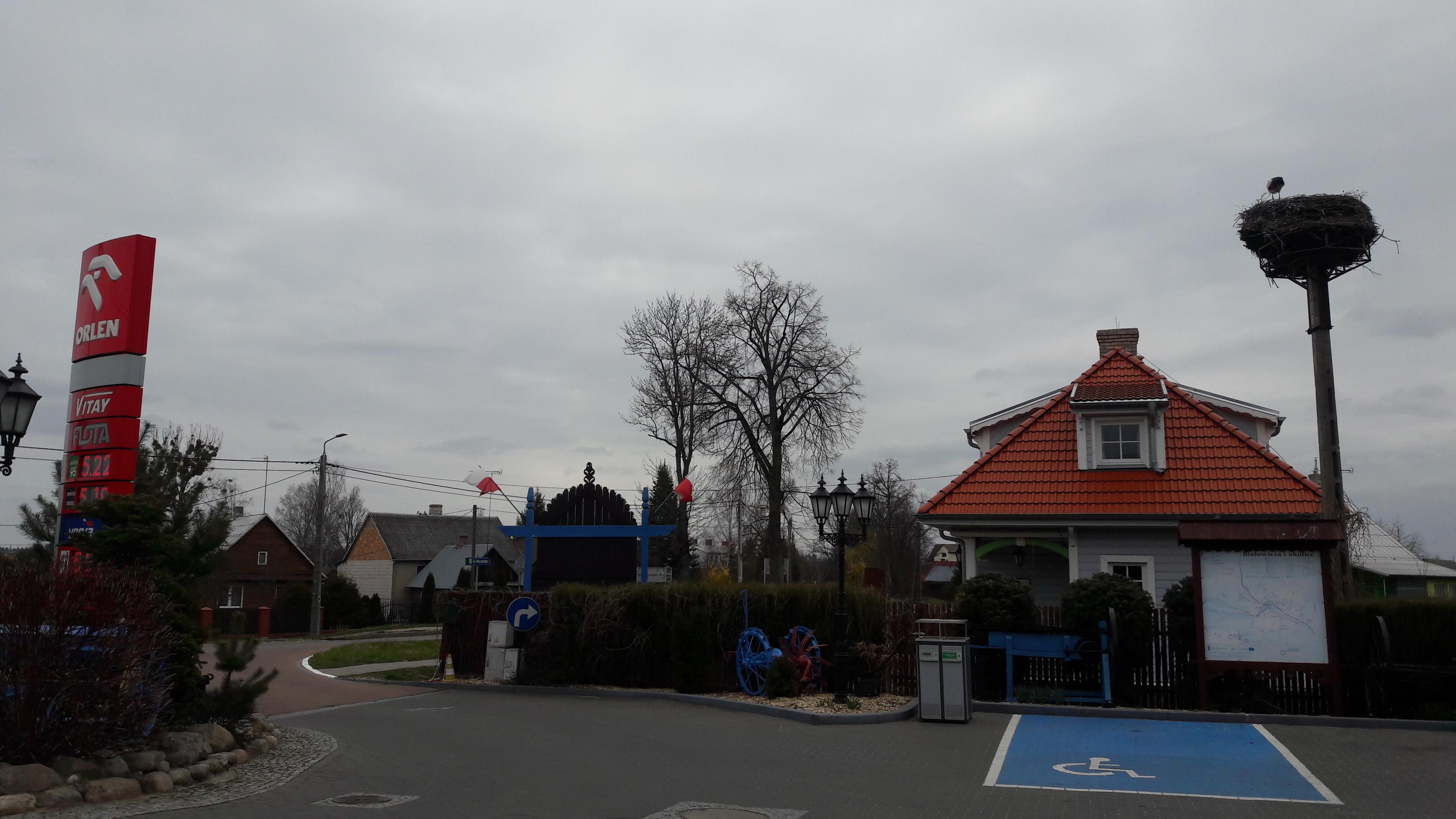 Bialowieza, station service