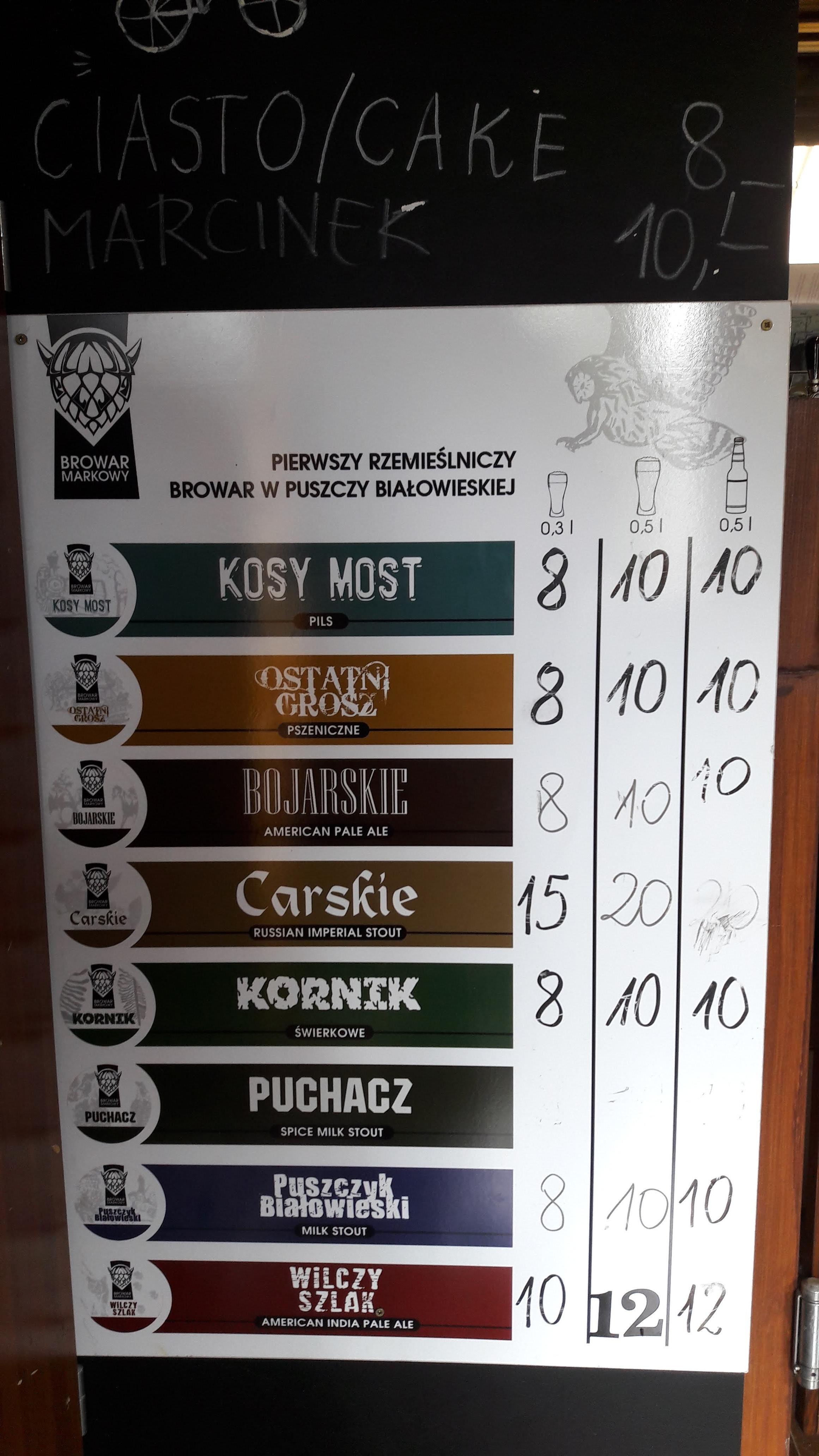 Les bières de Slavomir, plus délicieuses les unes que les autres