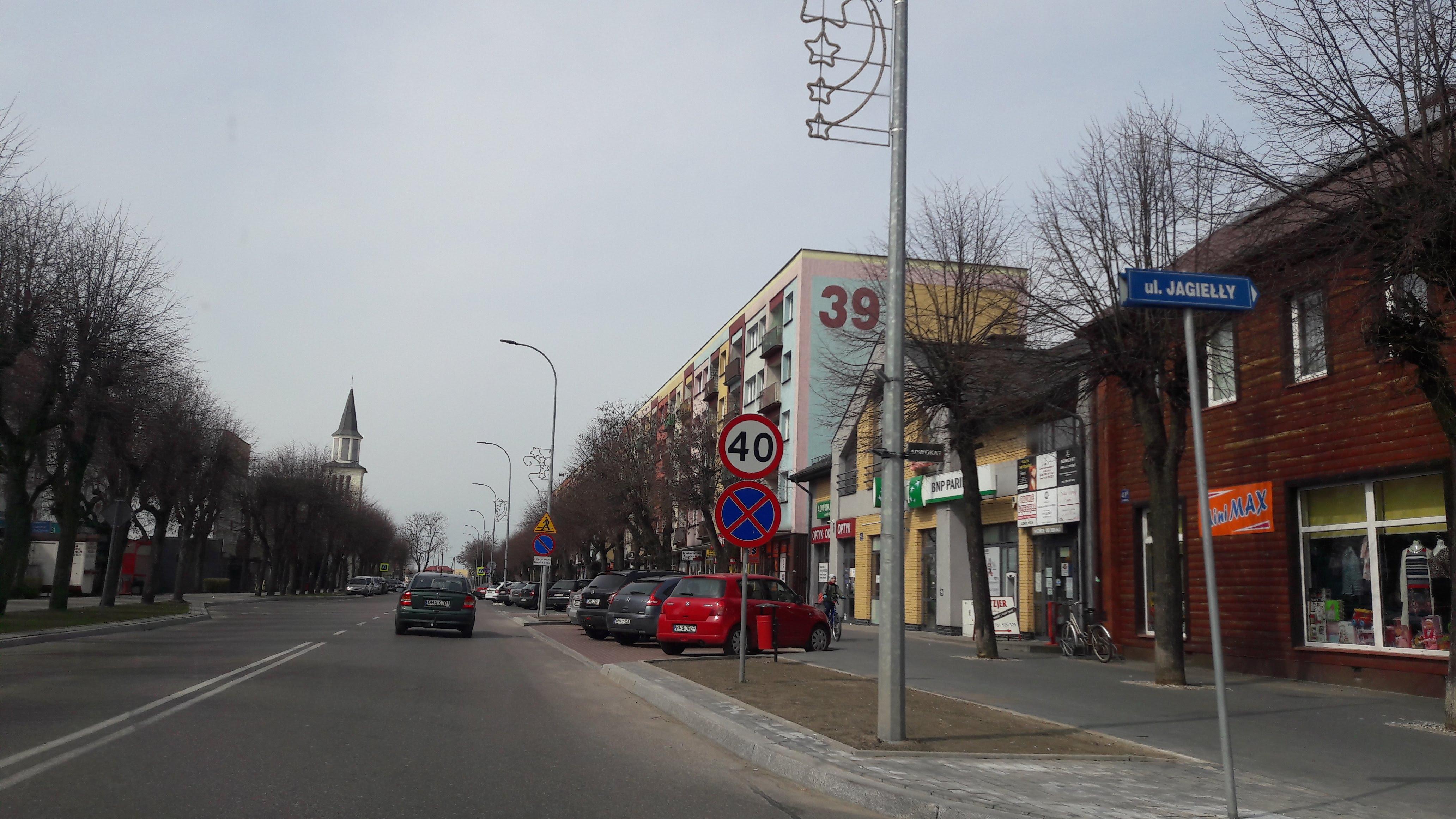 Route Bialowieza /Bielsk Podlaski/Bialystok/Monki