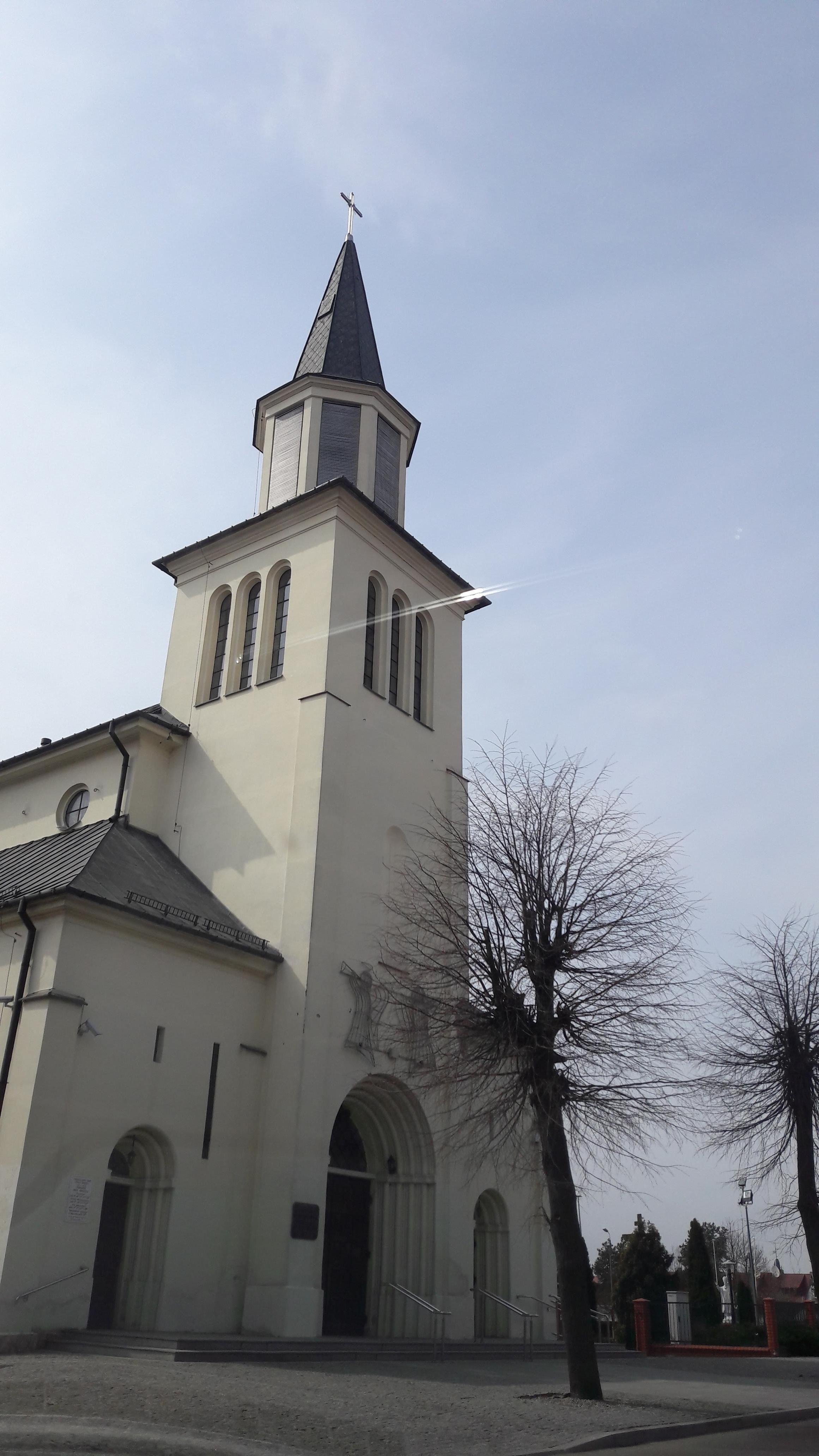 Eglise, Route Bialowieza /Bielsk Podlaski/Bialystok/Monki