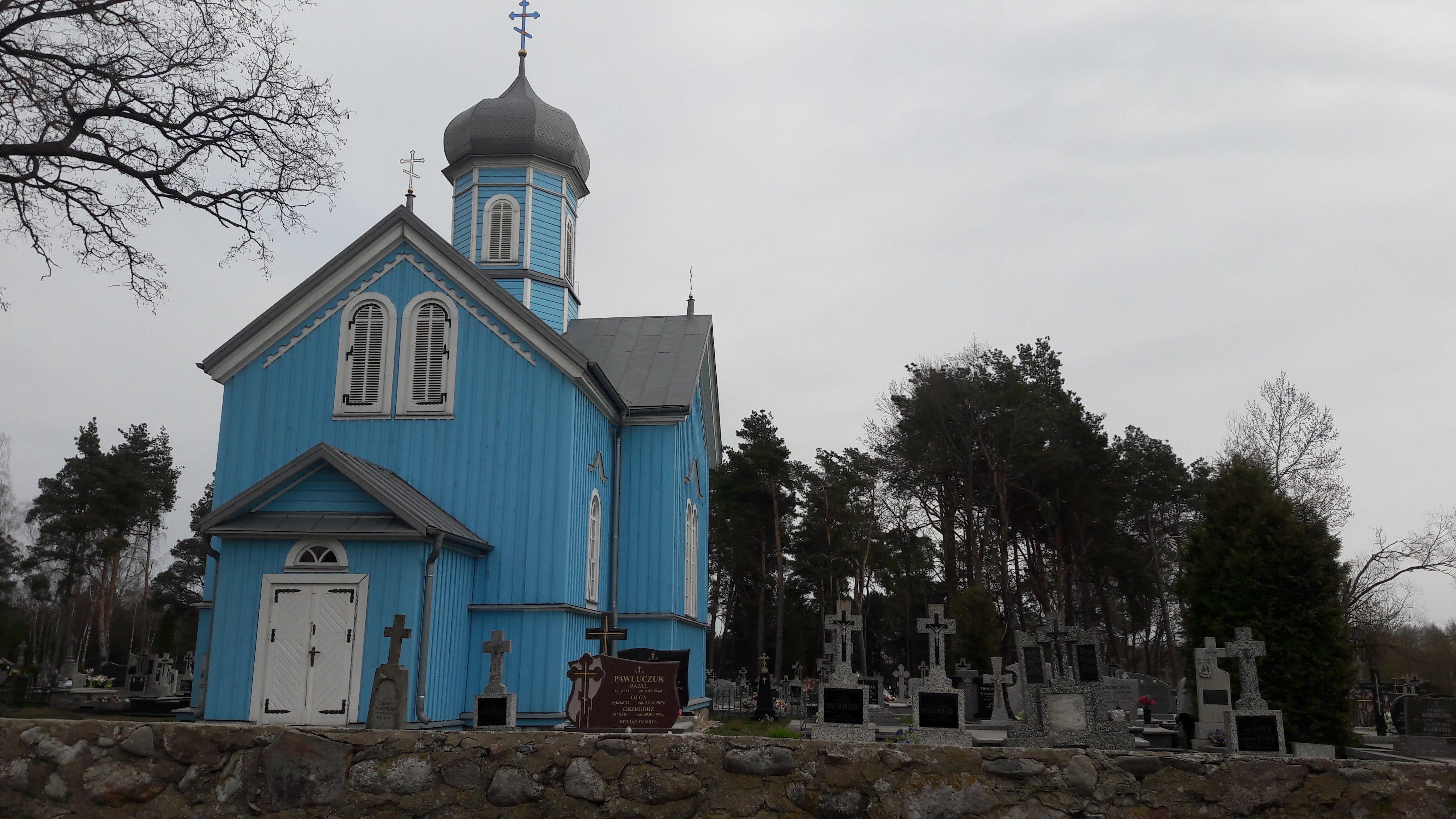 Eglise Route Bialowieza /Bielsk Podlaski/Bialystok/Monk