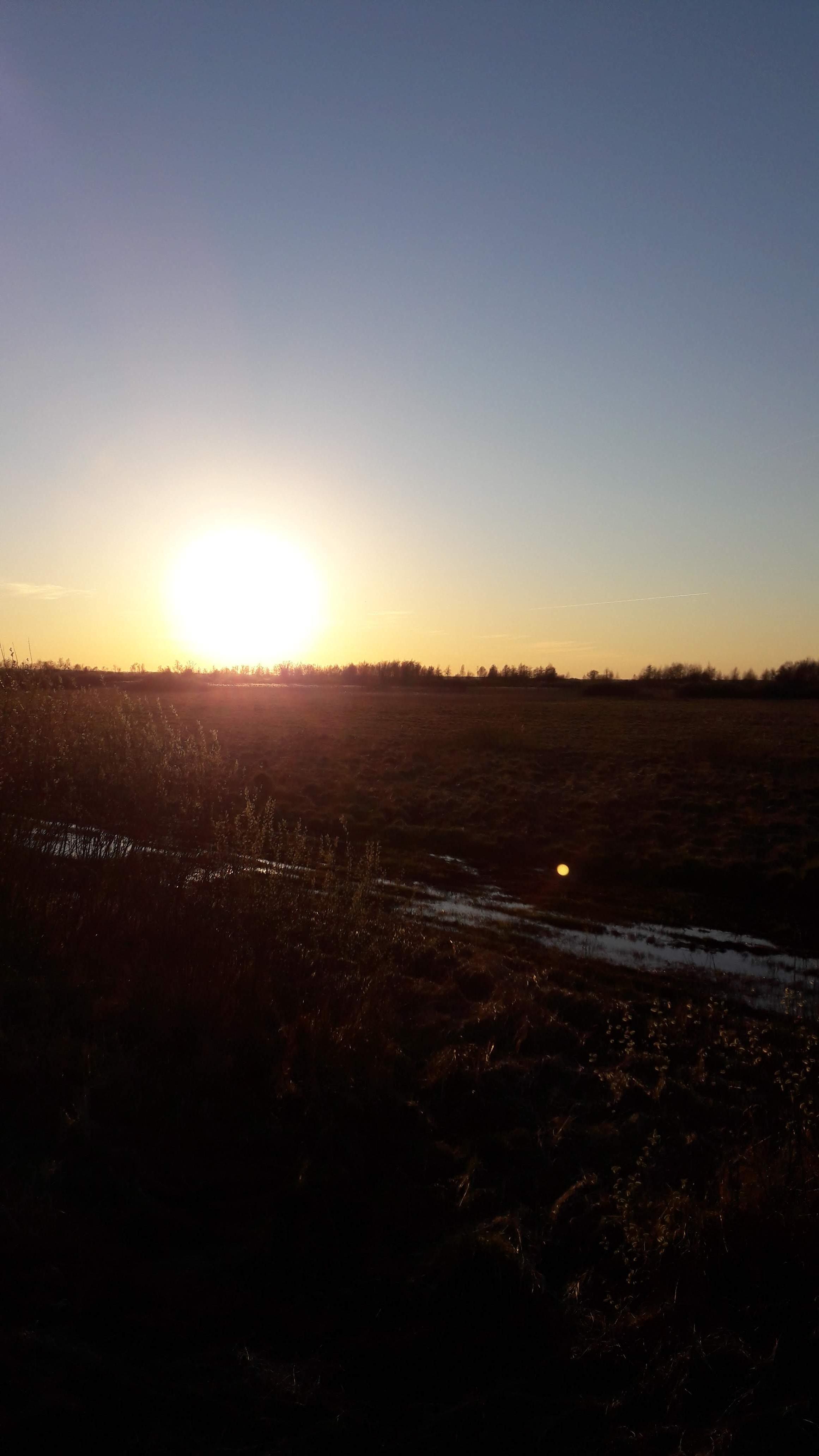 Coucher ce soleil, Barwik