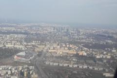 Varsovie, vue du ciel