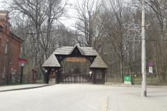 Porte entrée Palace Parc, Bialowieza